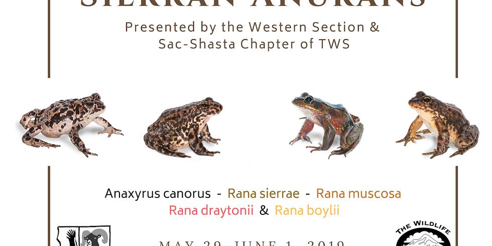 Western Section/Sac Shasta Sierran Anurans Workshop
