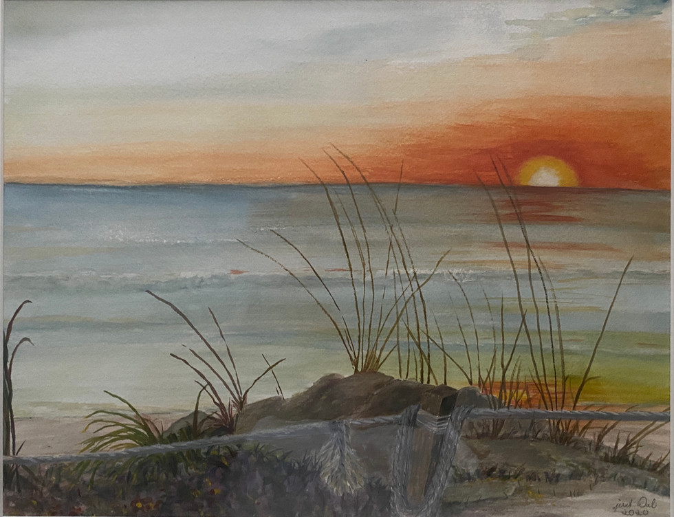 6. A Tidy Sunset