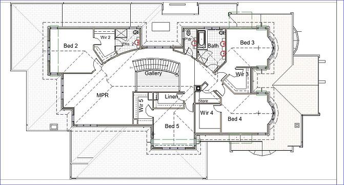 Rise Up Design - floor plan