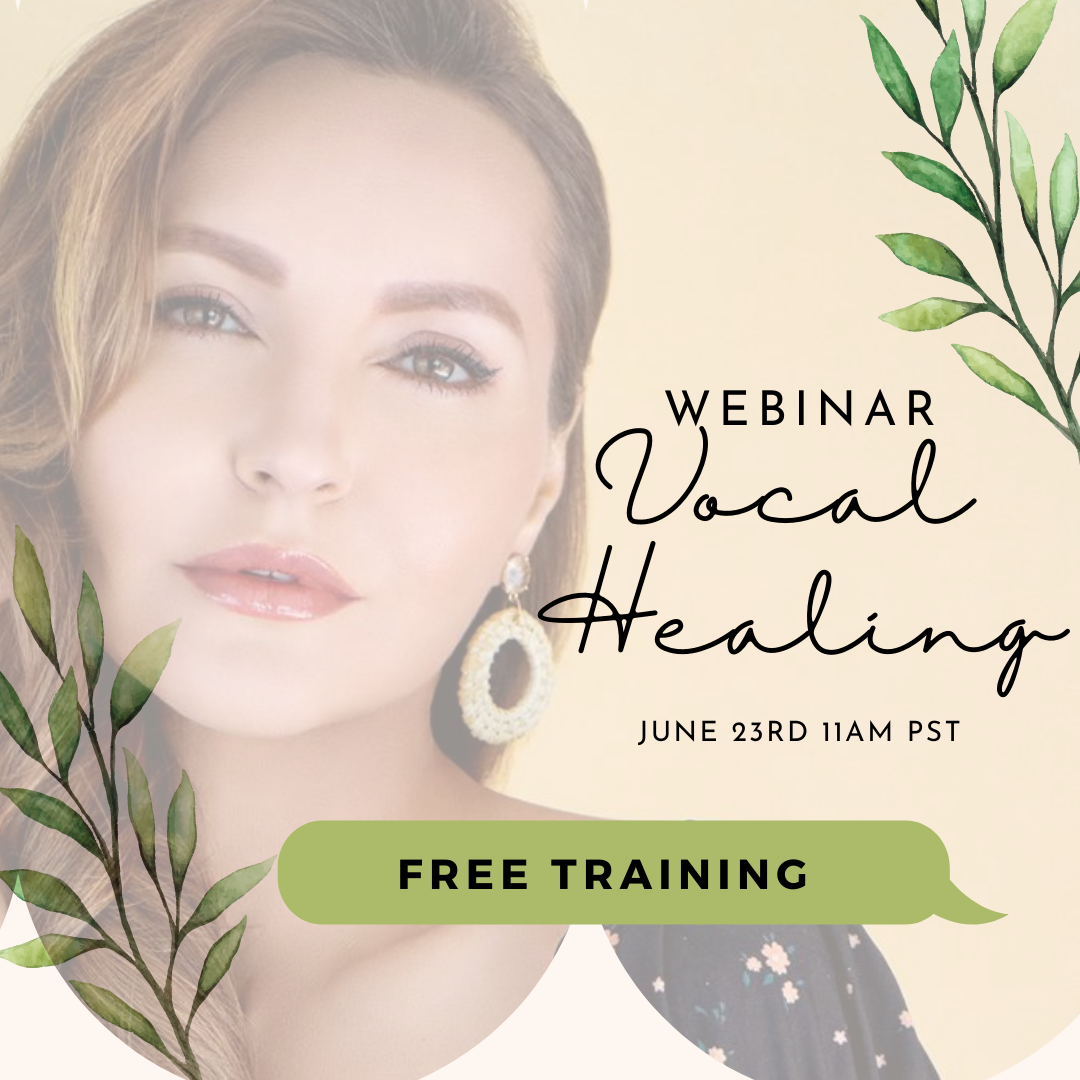 Free Vocal Healing Webinar