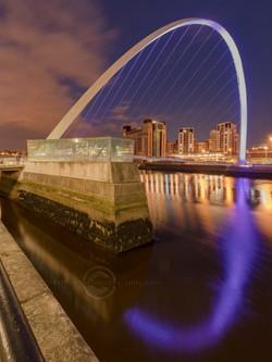 _IMG8473  Millenium Bridge at night