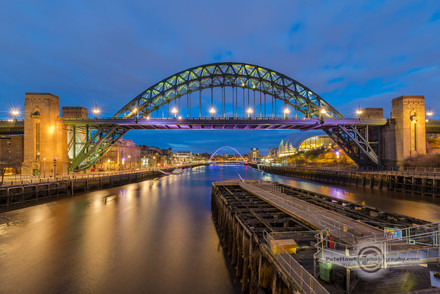 _IMG8527  Tyne and Millenium Bridges at