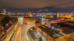 _IMG8558  Bridges And Traffic at night