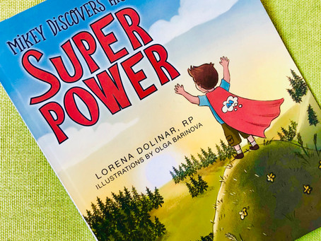 Story-Telling Sunday: Mikey Discovers his Super Power