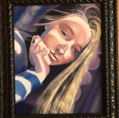 16x20  oil painting framed SOLD
