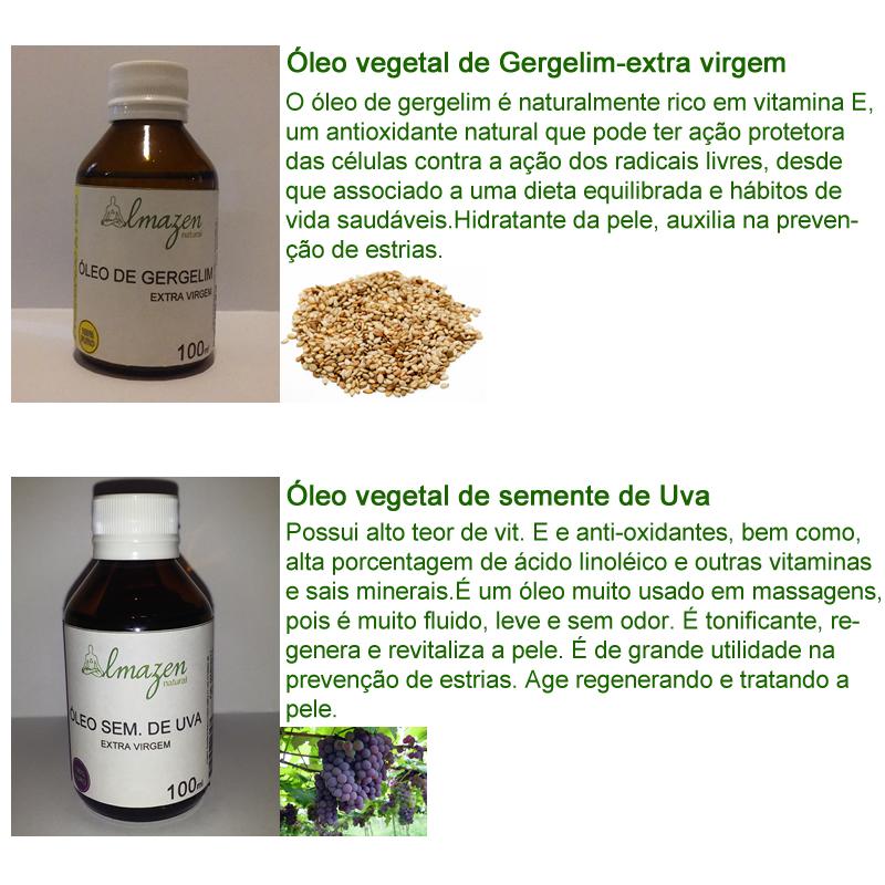 galeria oleos vegetais gergelim e semente de uva