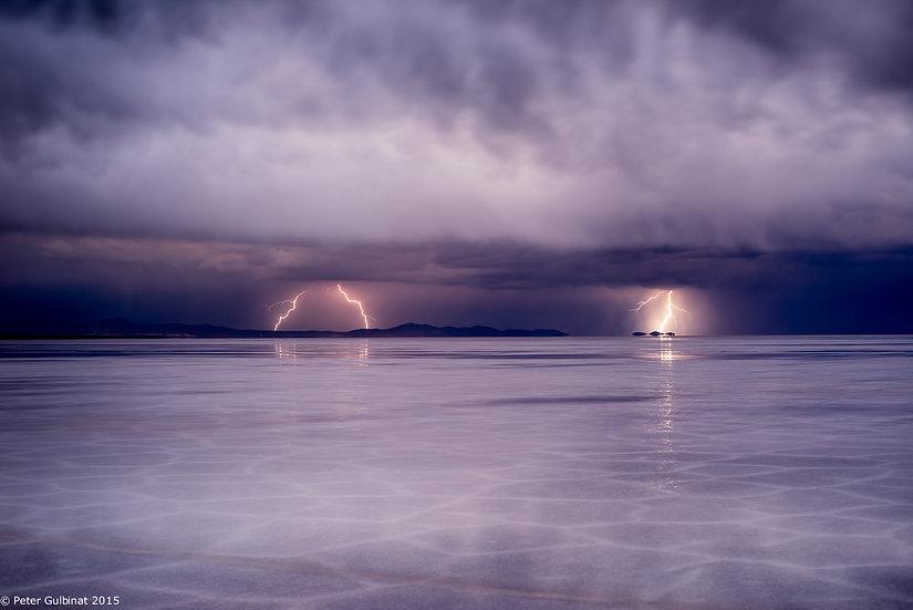 Salar during Thunderstorm