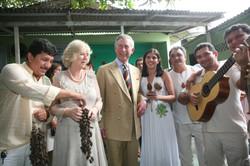 Principe Charles no Amazonas