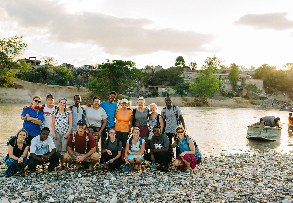 Flourish Collective Inc.'s first official Haiti mission team. January 2017