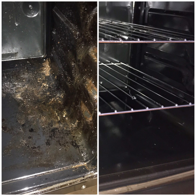 Domestic Oven Deep Clean