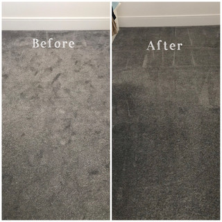 Carpet Steam Clean Before and After