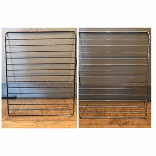 Domestic Oven Shelving Before and After