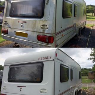 Caravan External Clean and Polish