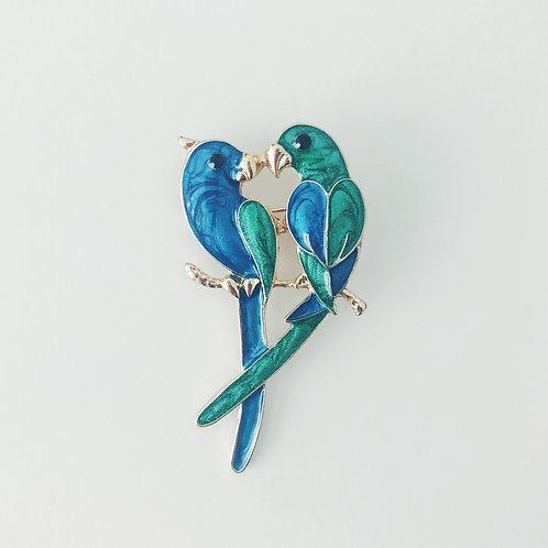 Pin papużki