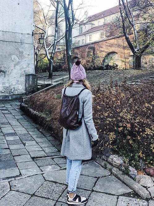 Plecak Worek Zamszowy