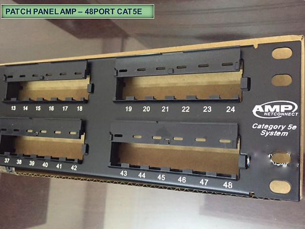 Patch panel 24 port cat5,Patch panel 24 port Cat6,Patch panel 48 port - 6