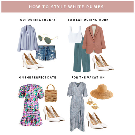 How to: Style White Pumps