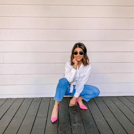 How to rock a POP of color