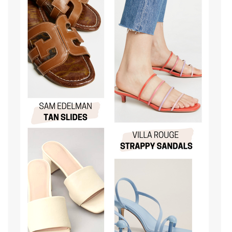 Summer Sandals: The Ultimate Guide