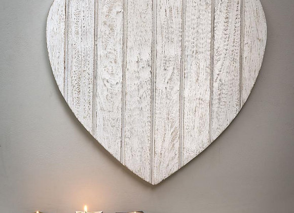 Distressed wooden wall plaque