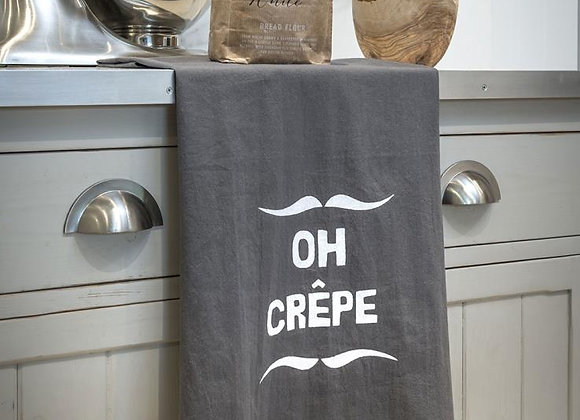 Funny slogan tea towel