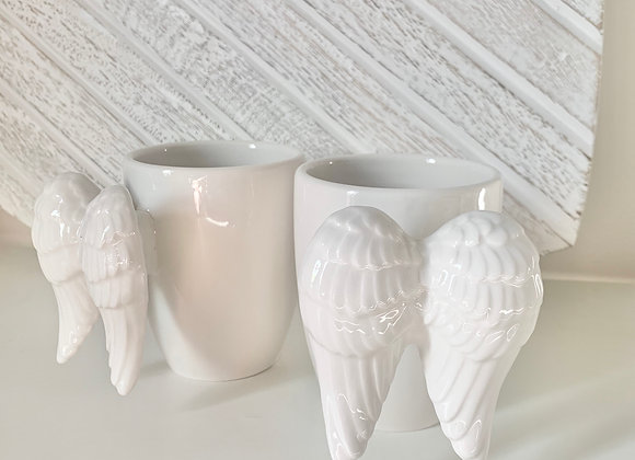 Angel wing mug