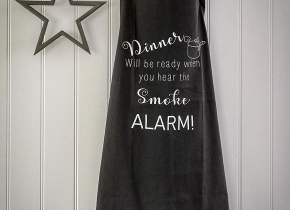 Funny slogan apron