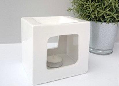 Cube wax warmer