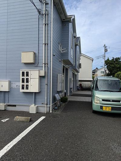 相模原市緑区の整体武村整体・駐車場の画像