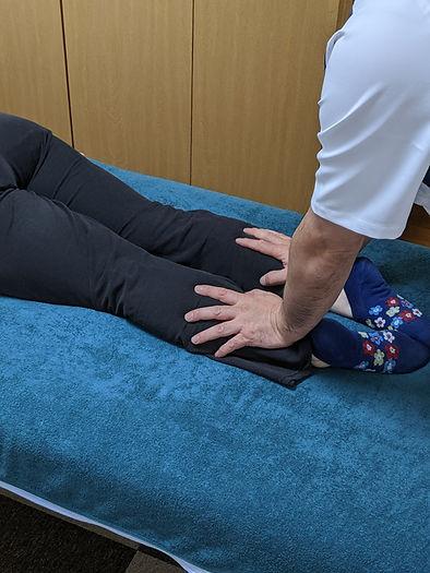 DRT施術後の再検査・下腿三頭筋
