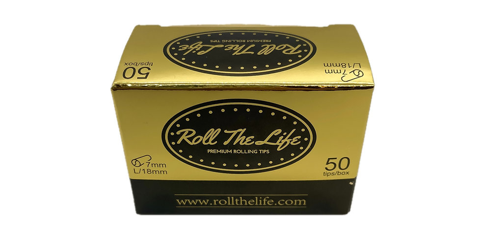 Roll The Life 7mm Natural Tips (50)