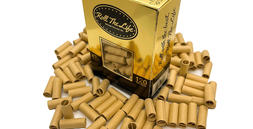 Roll The Life 7mm Natural Tips (120)