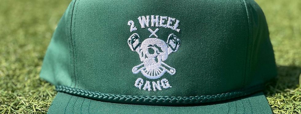2 Wheel Gang Snap Back (Green)