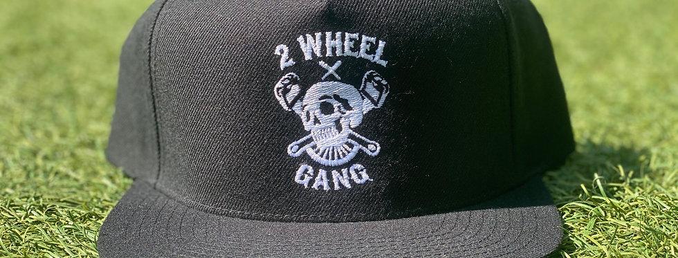 2 Wheel Gang Snap Back (Black)
