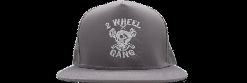 2 Wheel Gang Snap back(Grey)