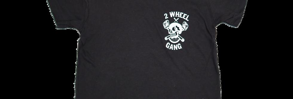 2 Wheel Gang Kids Tee(Black)