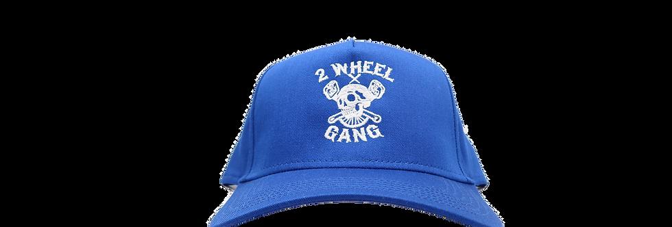 2 Wheel Gang Snap Back(Royal)