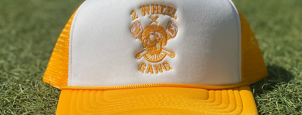 2 Wheel Gang Trucker (Yellow)