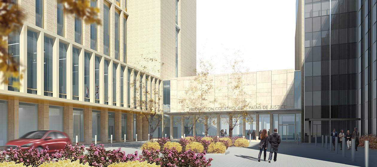 New Fredericton Courthouse