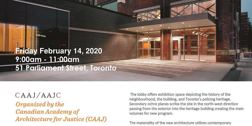 CAAJ Facility Tour: Toronto Police Service - Division 51