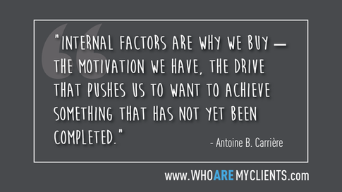 Quote #09 from the book Who Are My Clients by Antoine B. Carrière