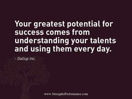 Your greatest potential for success