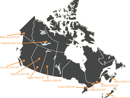 Pan-Canadian Tour of Strengths for Governance workshops | Fall 2019