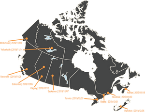 Pan-Canadian Tour of Strengths for Governance workshops | Fall 2019 dates and locations