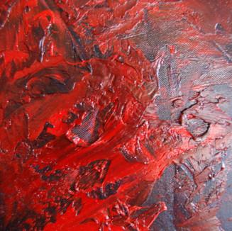 Peinture abstraite à l'huile sur canvas (originale)