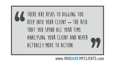 Quote #16 from the book Who Are My Clients by Antoine B. Carrière