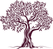 Tree without border - burgundy.png