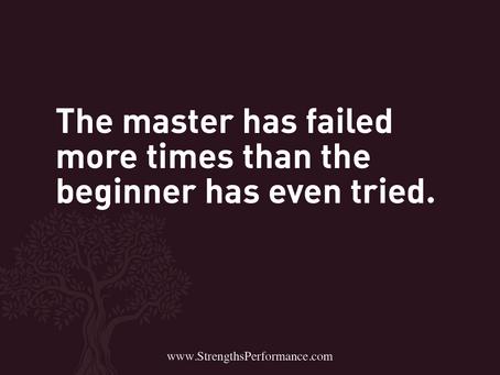 The master has failed