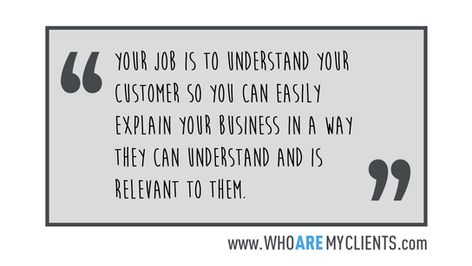 Quote #28 from the book Who Are My Clients by Antoine B. Carrière