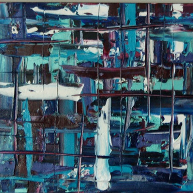Original Abstract Oil on canvas